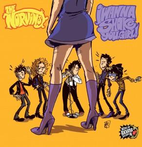 The Norvins - I Wanna Shake You Girl
