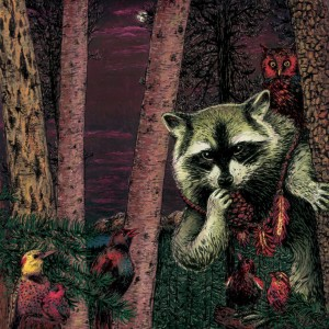 Wild Raccoon - Half Pine Cone